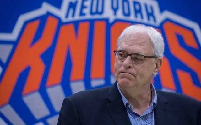 Phil Jackson ist seit März 2014 bei den Knicks am Ruder