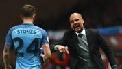 John Stones spielt unter Pep Guardiola bei Manchester City