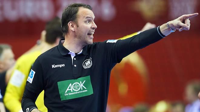 Dagur Sigurdsson ist seit 2014 Trainer der deutschen Nationalmannschaft
