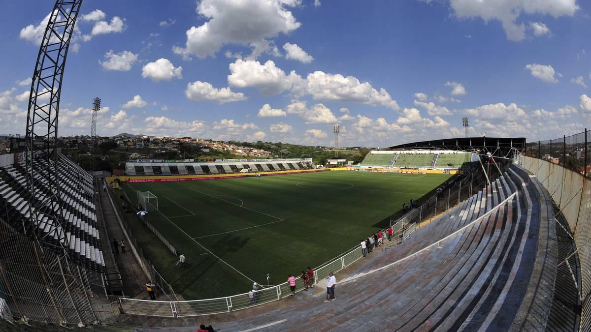 Stadion von CA Bragantino - Brasilianische Serie B