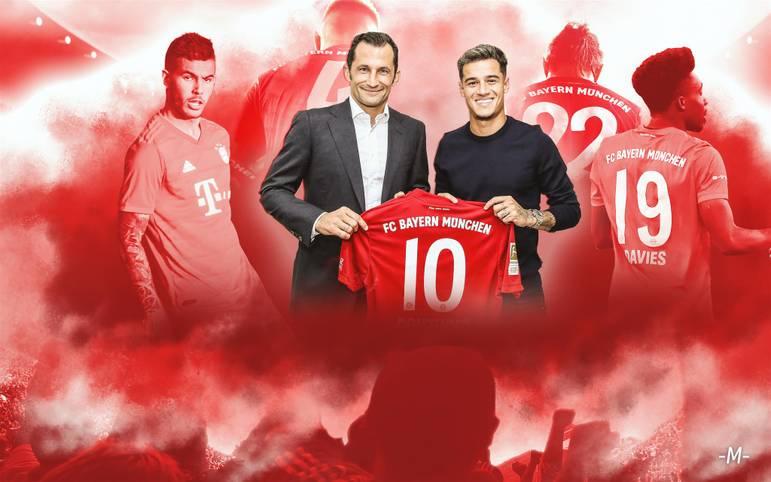 Er ist da! Am Montag wurde Philippe Coutinho beim FC Bayern offiziell vorgestellt. Der Brasilianer bekommt beim Rekordmeister das Trikot mit der Nummer 10. Eine große Nummer in München, zuletzt trug dieses Trikot Arjen Robben