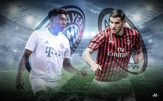 FC Bayern München gegen AC Milan beim ICC 2019