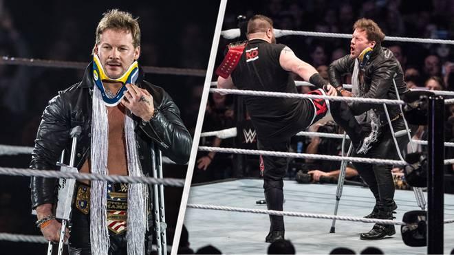 Chris Jericho wurde auf der WWE-Deutschland-Tour von Kevin Owens verprügelt