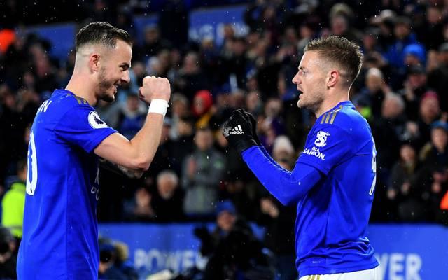Leicester City gewann am 9. März das letzte Spiel in der Premier League vor Fans
