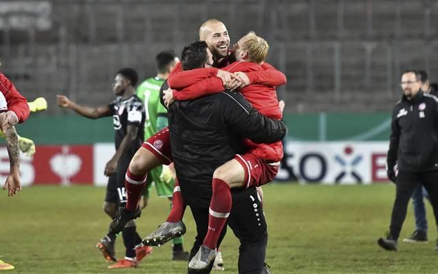 Party pur! Rot-Weiss Essen steht im Achtelfinale des DFB-Pokals