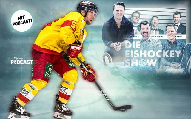 """Patrick Köppchen spricht in Im SPORT1-Podcast """"Die Eishockey Show"""" über seine lange DEL-Karriere"""