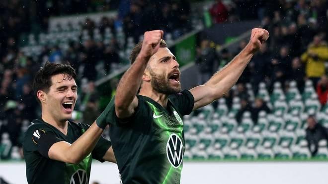 Admir Mehmedi erzielte den Siegtreffer für den VfL Wolfsburg