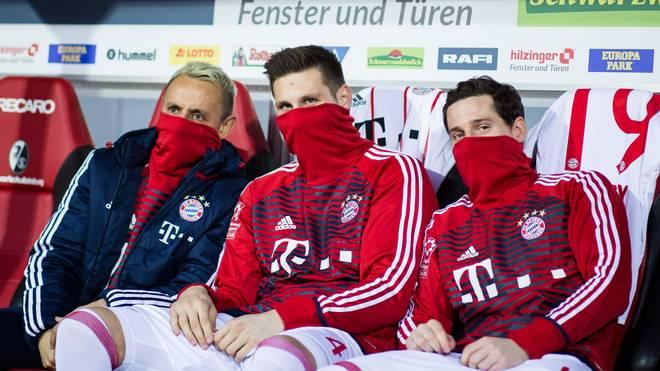 RB Leipzig will offenbar Sebastian Rudy (r.) vom FC Bayern verpflichten
