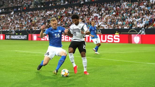 Die DFB-Auswahl trifft in der EM-Qualifikation am Abend auf Estland