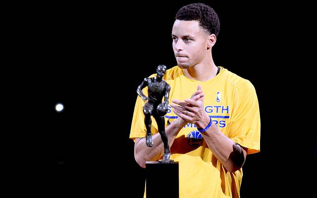 Stephen Curry wird 2015 erstmals zum MVP der NBA gewählt