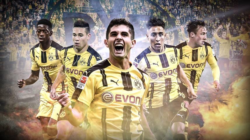 Borussia Dortmund gab vor der Saison Leistungsträger ab, rüstete personell aber auch mächtig auf. Besonders die Verpflichtungen von Mario Götze  und Andre Schürrle sorgten für Schlagzeilen. Doch zum Saisonstart spielen sich fünf Juwele in den Vordergrund. SPORT1 stellt die jungen Wilden vor