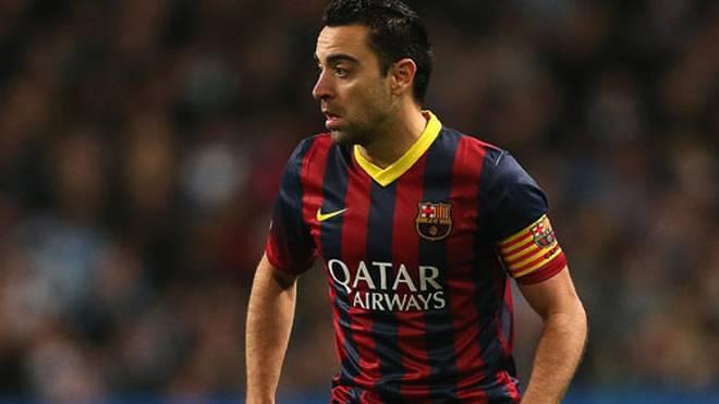 Xavi spielt schon seit der Jugend für den FC Barcelona