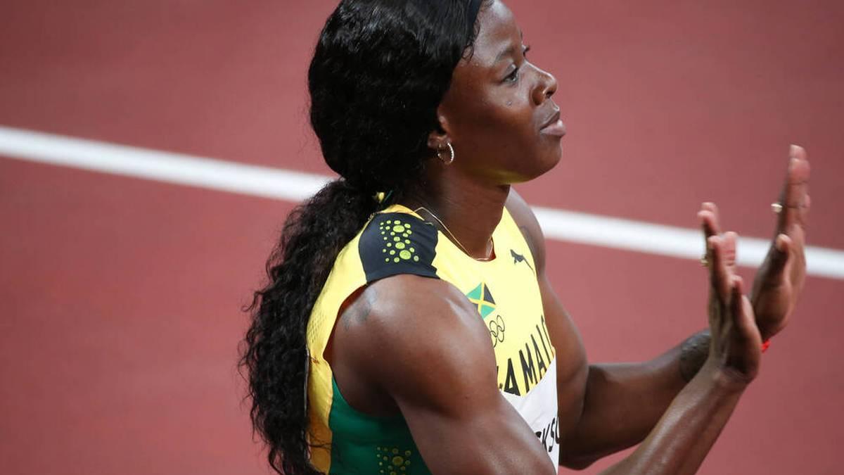 Shericka Jackson wird über 200 Meter keine Medaille holen