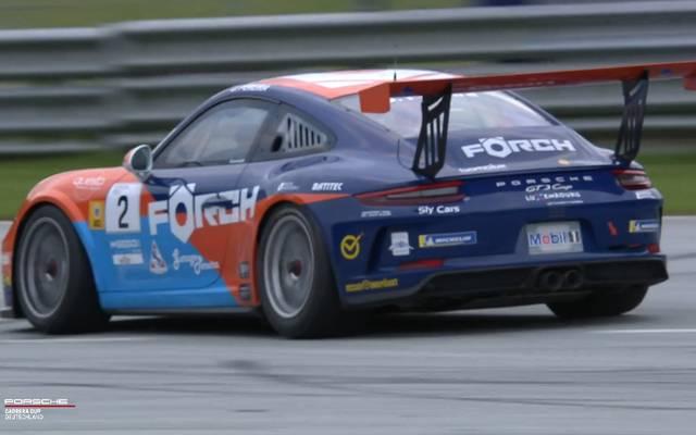 Dylan Pereira hat alle drei Rennen des Porsche Carrera Cups am Red Bull Ring gewonnen