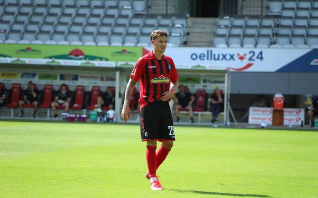 Robin Koch stand drei Jahre beim SC Freiburg unter Vertrag
