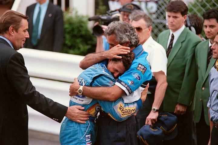 """Vor 25 Jahren Jahren feiert ein junger Michael Schumacher seinen ersten WM-Titel in der Formel 1. Anlässlich des Ehrentages des gebürtigen Kerpeners blickt SPORT1 in Bildern zurück auf Karriere und prägende Ereignisse im Leben von """"Schumi"""""""