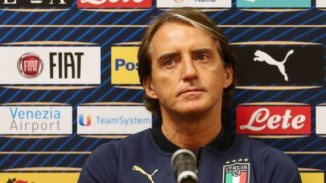 Roberto Mancini kann gegen Estland nicht auf der Bank sitzen