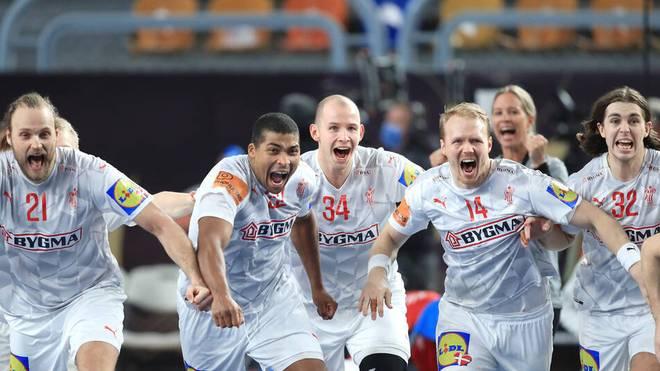 Erleichterung bei Dänemark nach dem Einzug ins WM-Halbfinale