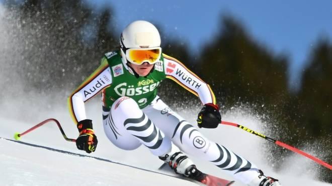 Kira Weidle belegte Rang 15 im Super-G