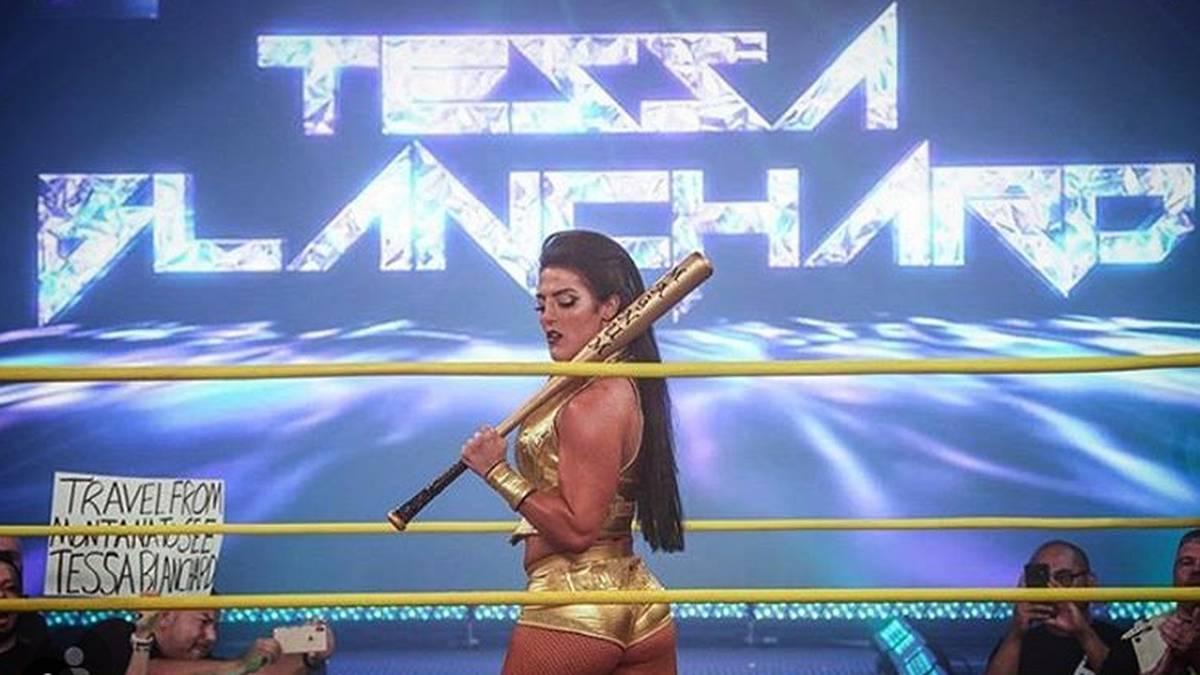 Tessa Blanchard stand im Hauptkampf von Impact Slammiversary