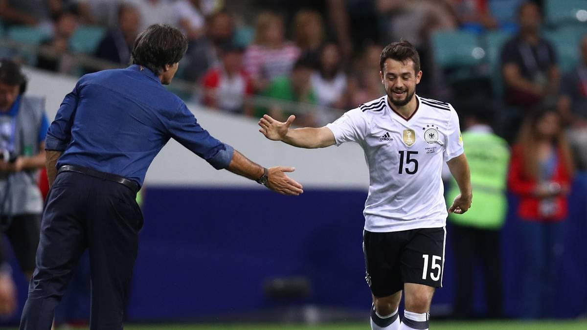 """AMIN YOUNES: War der Feldspieler mit der geringsten Zahl an Einsatzminuten - ganze 19. Nutzte die allerdings zu einem Tor gegen Mexiko. Hat zumindest """"sehr starke Charakteristika gezeigt"""", meinte Bierhoff. Weil seine Stärke im Eins zu eins im deutschen Fußball einzigartig ist, bleibt er ein Kandidat für den nächsten Sommer"""