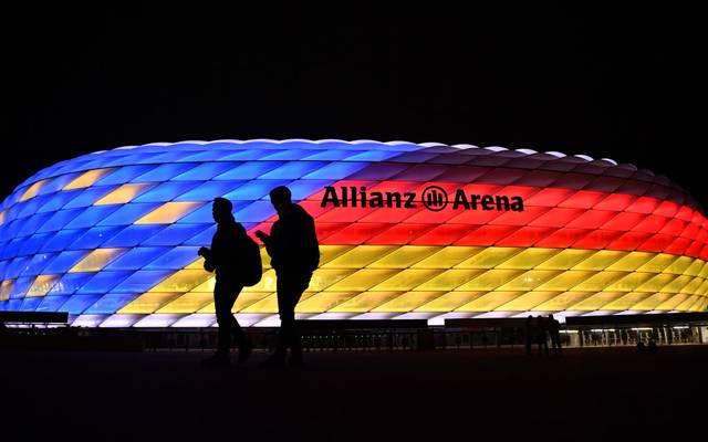 Die Allianz Arena ist einer der Austragungsorte während der EM 2020