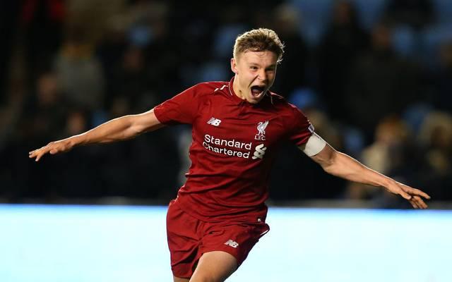 Paul Glatzel bekommt einen langfristigen Vertrag beim FC Liverpool