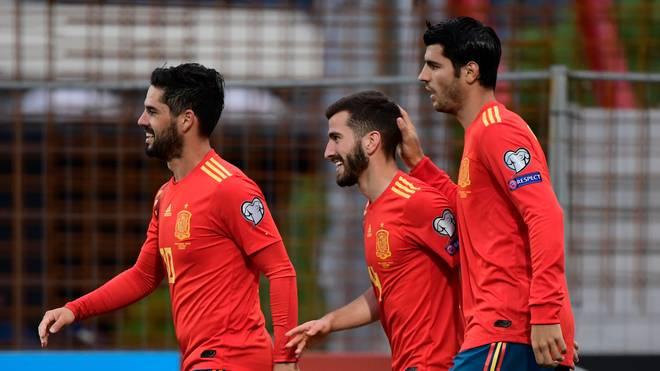 FBL-EURO-2020-FRO-ESP Spanien ist mit drei Siegen aus drei Spielen in die EM-Qualifikation gestartet. Gegen Verfolger Schweden soll nun der nächste Streich folgen