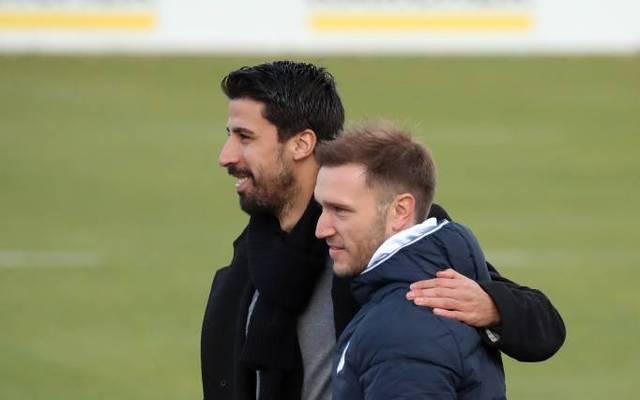 Danny Galm (vorne, mit Sami Khedira) übernimmt Bayerns U19