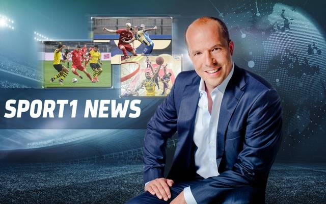 Hartwig Thöne verstärkt das Moderatoren-Team bei den SPORT1 News