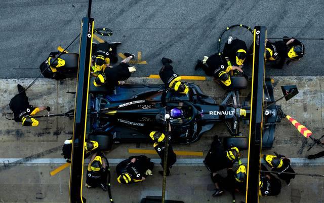 Renault hatte unabhängig von der Coronakrise bereits angekündigt, sein Engagement in der Formel 1 überprüfen zu wollen