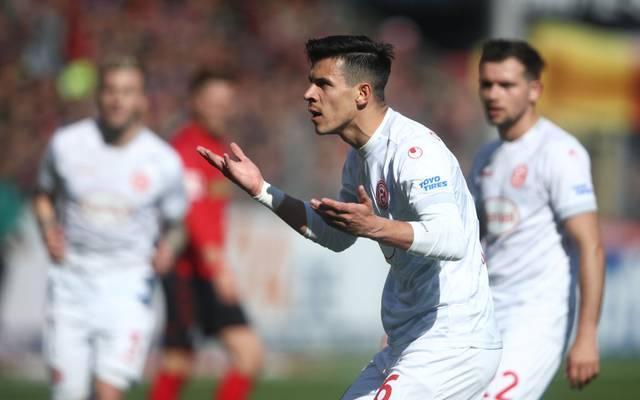 Alfredo Morales steht Fortuna Düsseldorf in den nächsten Wochen nicht zur Verfügung