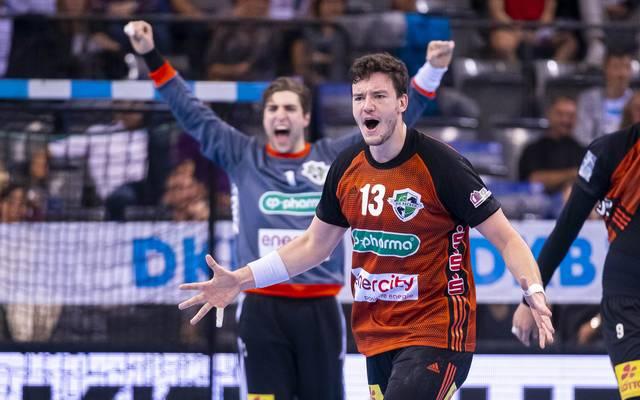 Der TSV Hannver-Burgdorf feiert in der HBL seinen 6. Sieg