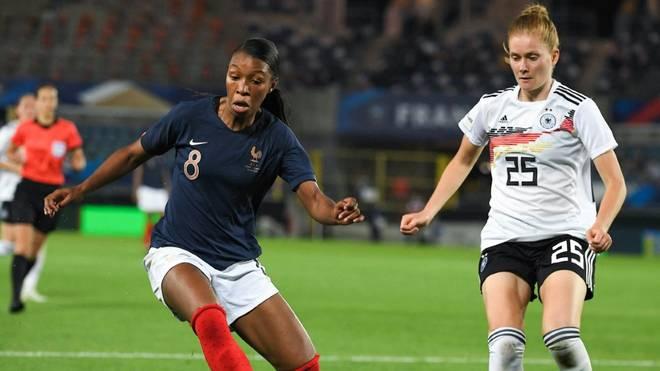 Die DFB-Frauen verlieren gegen Frankreich