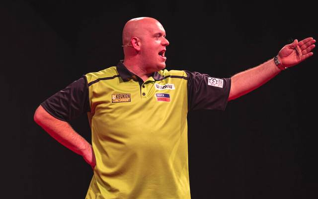 Michael van Gerwen war gegen Simon Whitlock chancenlos