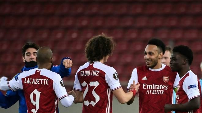 Arsenal steht im Achtelfinale