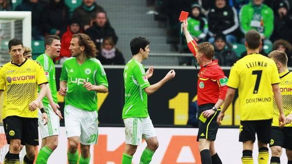 Die Bundesligaspieler mit den meisten Platzverweisen
