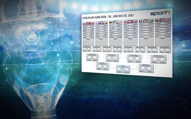 Fussball Em 2016 Pdf Spielplan Kostenlos Zum Ausdrucken