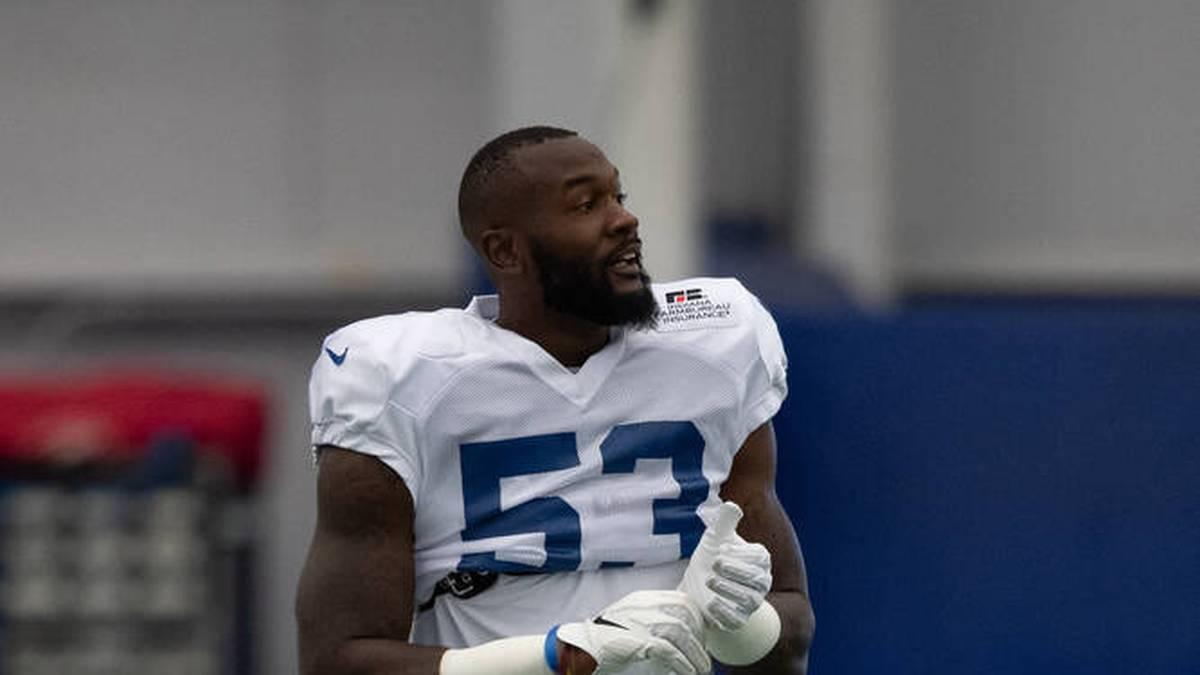 Darius Leonard ist Linebacker bei den Indianapolis Colts - und hatte nun Glück im Unglück