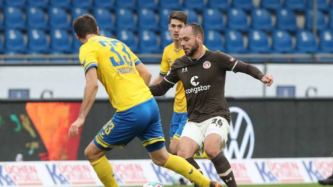 Das Hinspiel gewann Eintracht Braunschweig mit 2:1 gegen St. Pauli