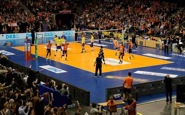 Die Endspiele der Volleyball Champions League finden erneut in der Max Schmeling Halle statt