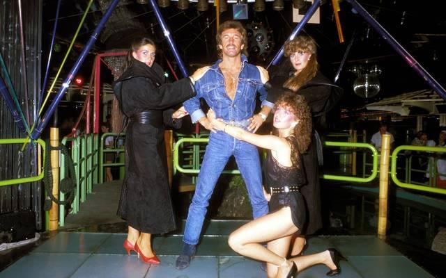 René Weller pflegte stets sein Image als Playboy