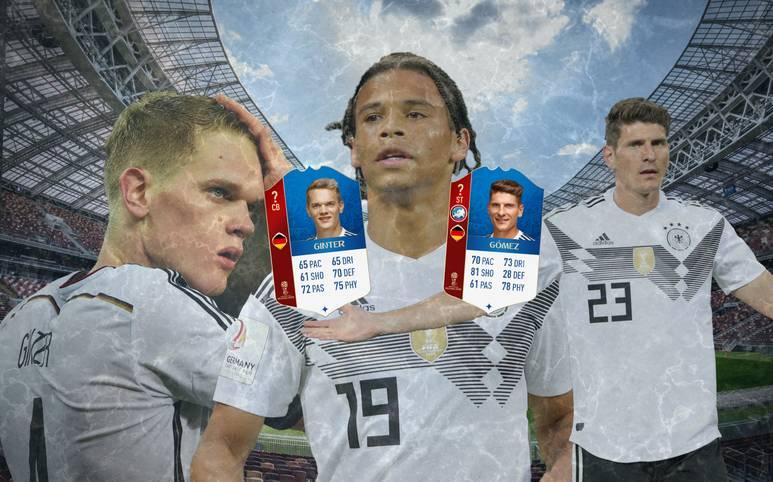 Bundestrainer Jogi Löw hat entschieden: Bernd Leno, Nils Petersen, Jonathan Tah und auch Leroy Sane dürfen nicht mit zur WM nach Russland. Doch passt diese Entscheidung auch in die Spielerbewertung in FIFA 18? SPORT1 blickt auf das Ranking der Nationalspieler im Gratis WM-Modus und nennt die vier Streichkandidaten laut FIFA18-Bewertung