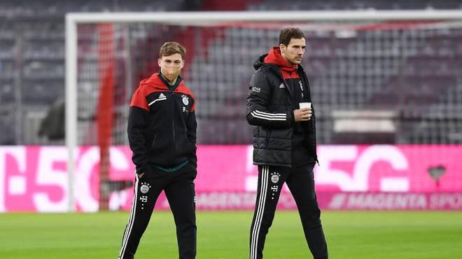 Joshua Kimmich und Leon Goretzka bilden bei Bayern ein starkes Duo im Zentrum