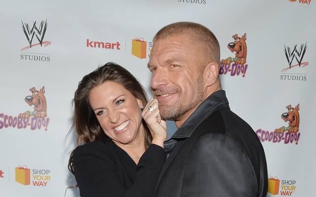 """Die kommenden WWE-Bosse: Stephanie McMahon (l.) und Ehemann Paul """"Triple H"""" Levesque"""