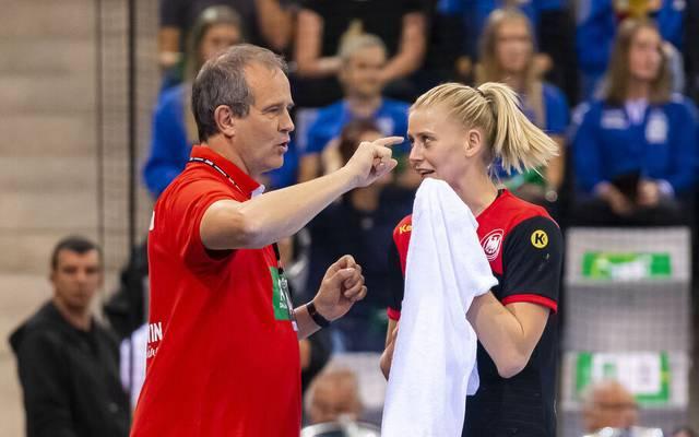 Kam es zwischen Bundestrainer Henk Groener und Kim Naidzinavicius zum Zoff?