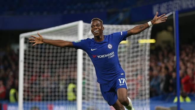 Charly Musonda erzielte am 20.09.2017 sein einziges Tor für Chelsea - im EFL Cup gegen Nottingham Forest