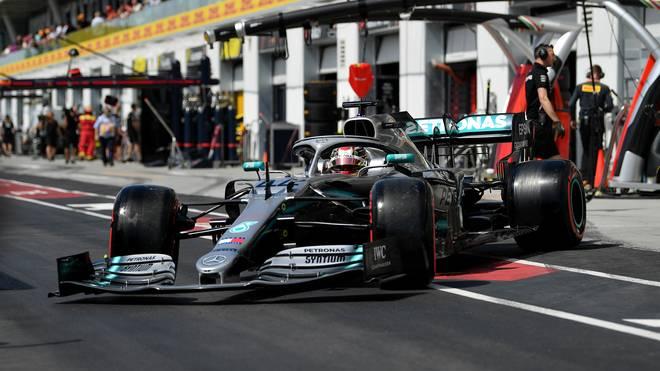Lewis Hamilton startet in Kanada von Platz zwei