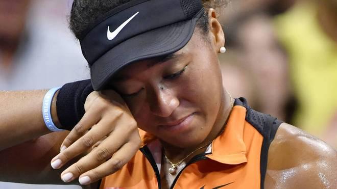 Naomi Osaka steht in New York im Finale