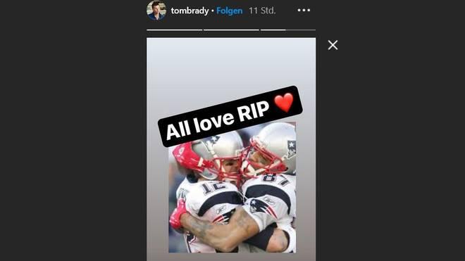 Tom Brady trauert bei Instagram um Reche Caldwell